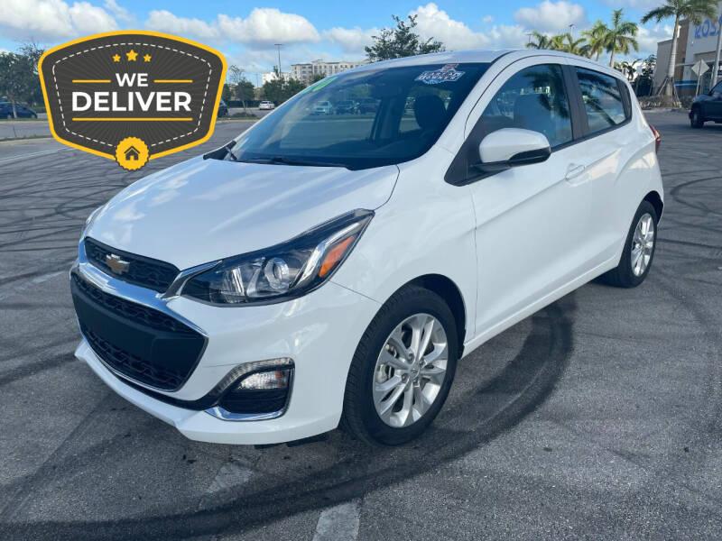 2020 Chevrolet Spark for sale at Alma Car Sales in Miami FL