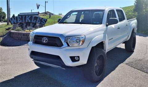 2012 Toyota Tacoma for sale at WEIKLES SPECIALTY in Felton PA