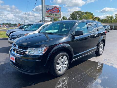 2018 Dodge Journey for sale at McCully's Automotive - Trucks & SUV's in Benton KY