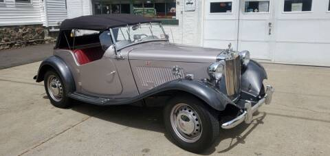 1951 MG TD for sale at Carroll Street Auto in Manchester NH