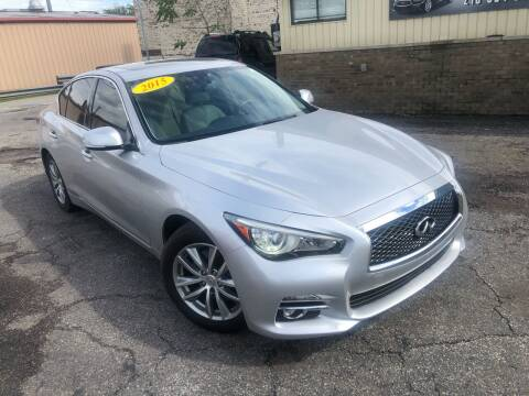 2015 Infiniti Q50 for sale at Some Auto Sales in Hammond IN