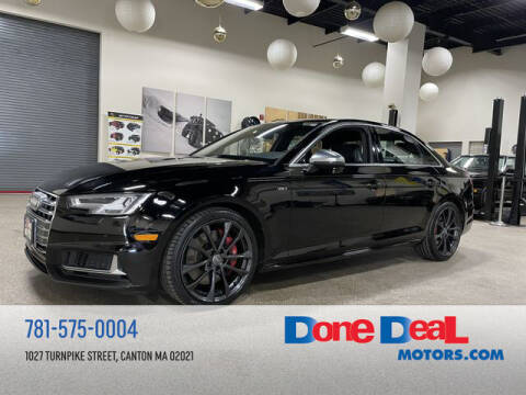 2018 Audi S4 for sale at DONE DEAL MOTORS in Canton MA