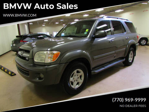 2005 Toyota Sequoia for sale at BMVW Auto Sales in Union City GA