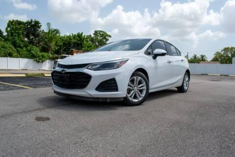 2019 Chevrolet Cruze for sale at Guru Auto Sales in Miramar FL