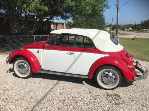 1968 Volkswagen Beetle Convertible for sale at Mafia Motors in Boerne TX