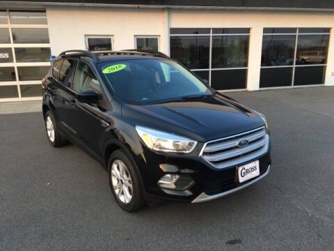 2018 Ford Escape for sale at Gross Motors of Marshfield in Marshfield WI