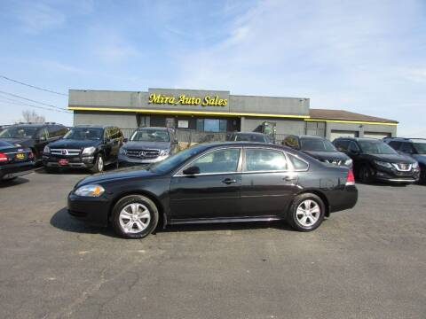 2012 Chevrolet Impala for sale at MIRA AUTO SALES in Cincinnati OH