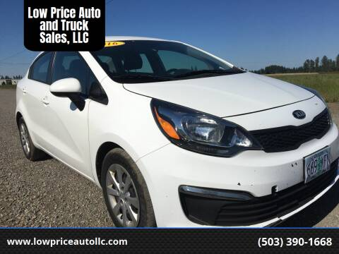 2016 Kia Rio for sale at Low Price Auto and Truck Sales, LLC in Brooks OR