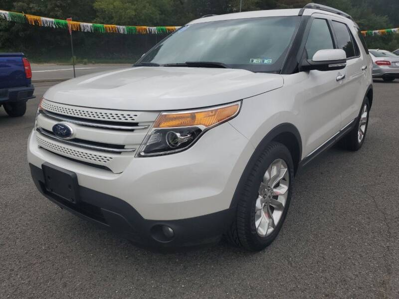 2014 Ford Explorer for sale at Mulligan's Auto Exchange LLC in Paxinos PA