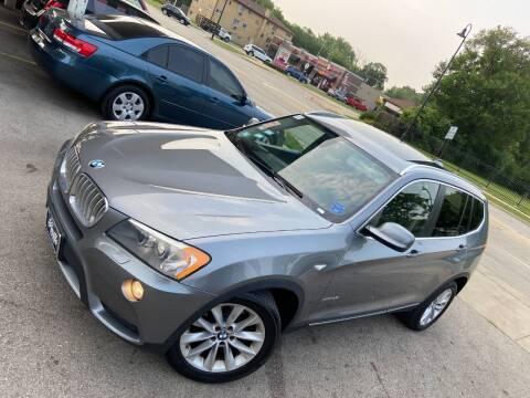 2011 BMW X3 for sale at Car Stone LLC in Berkeley IL