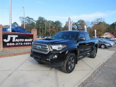 2016 Toyota Tacoma for sale at J T Auto Group in Sanford NC