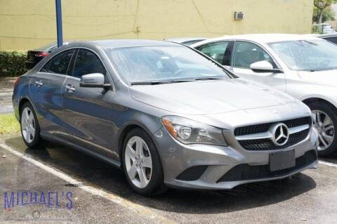 2015 Mercedes-Benz CLA for sale at Michael's Auto Sales Corp in Hollywood FL