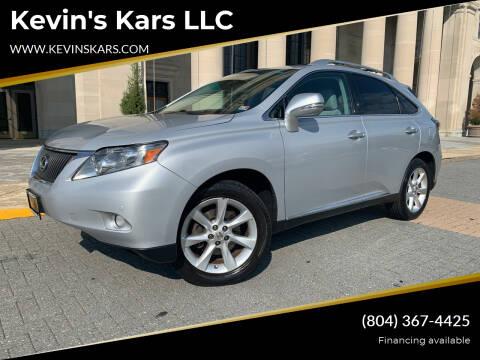 2010 Lexus RX 350 for sale at Kevin's Kars LLC in Richmond VA