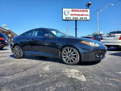 2008 Hyundai Tiburon for sale at Guidance Auto Sales LLC in Columbia TN