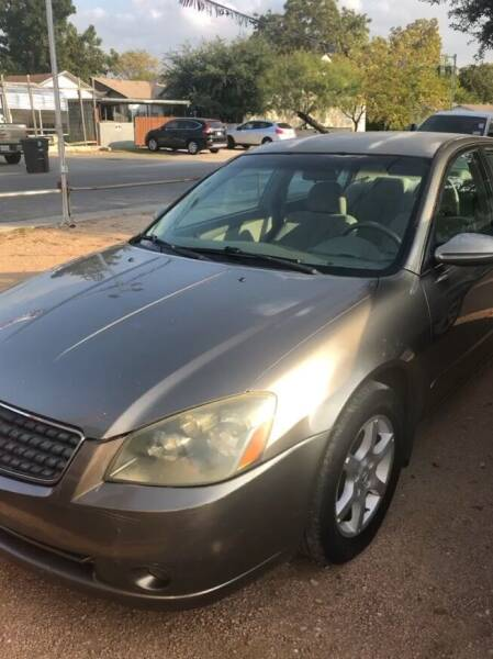 2005 Nissan Altima for sale at S & J Auto Group in San Antonio TX