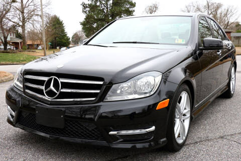 2014 Mercedes-Benz C-Class for sale at Prime Auto Sales LLC in Virginia Beach VA