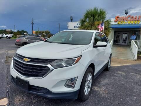 2018 Chevrolet Equinox for sale at Sun Coast City Auto Sales in Mobile AL