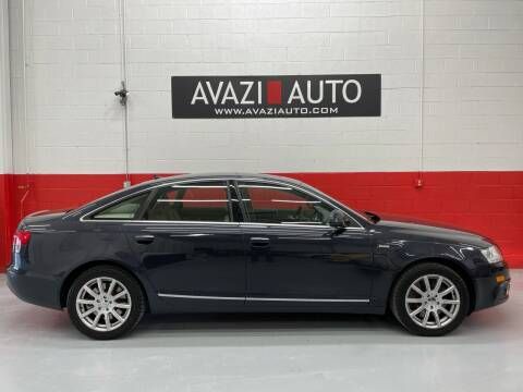 2011 Audi A6 for sale at AVAZI AUTO GROUP LLC in Gaithersburg MD