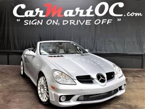 2007 Mercedes-Benz SLK for sale at CarMart OC in Costa Mesa CA