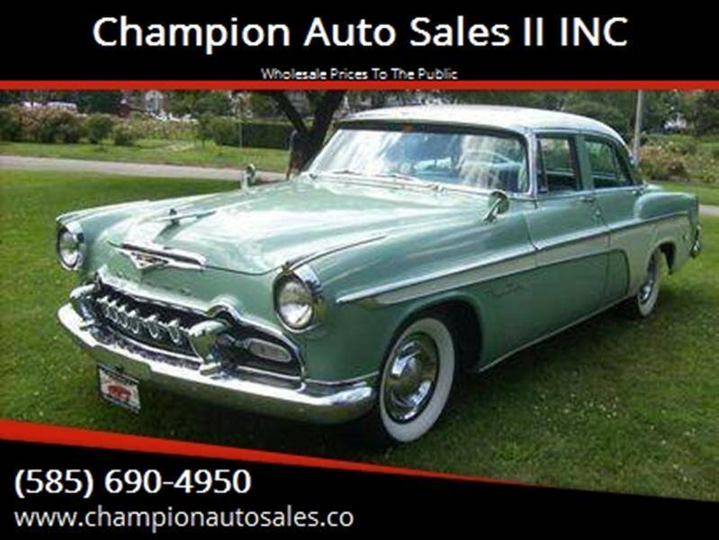 1955 Desoto Fireflite for sale at Champion Auto Sales II INC in Rochester NY