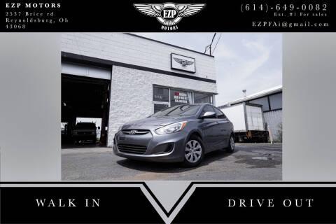 2015 Hyundai Accent for sale at EZP Motors in Reynoldsburg OH