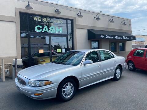 2002 Buick LeSabre for sale at Wilson-Maturo Motors in New Haven CT