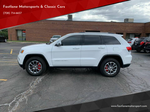2014 Jeep Grand Cherokee for sale at Fastlane Motorsports & Classic Cars in Addison IL