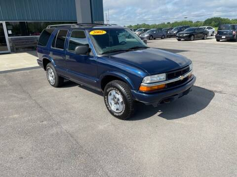 2002 Chevrolet Blazer for sale at Wildfire Motors in Richmond IN