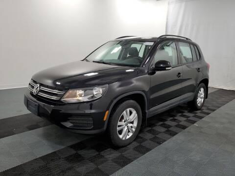 2016 Volkswagen Tiguan for sale at Riverside Auto Sales & Service in Portland ME