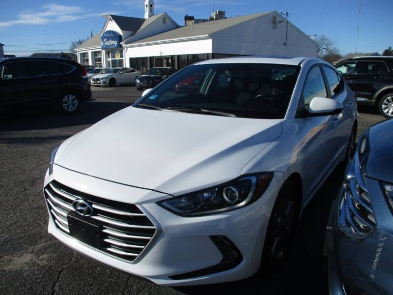 2017 Hyundai Elantra for sale at AUTO FACTORY INC in East Providence RI