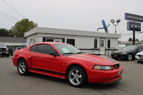 2003 Ford Mustang for sale at Northwest Premier Auto Sales in West Richland WA