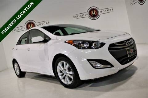 2014 Hyundai Elantra GT for sale at Unlimited Motors in Fishers IN