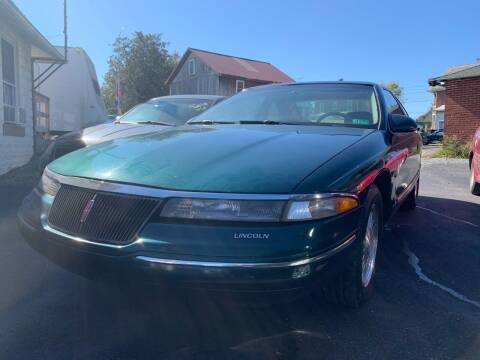 1994 Lincoln Mark VIII for sale at Waltz Sales LLC in Gap PA
