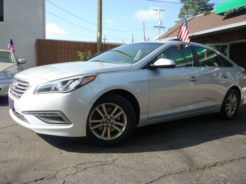 2015 Hyundai Sonata for sale at Sindibad Auto Sale, LLC in Englewood CO