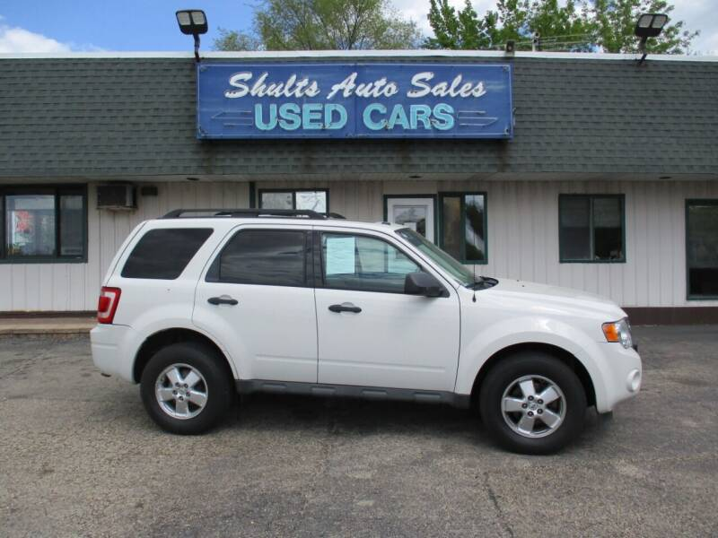 2011 Ford Escape for sale at SHULTS AUTO SALES INC. in Crystal Lake IL