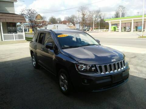 2015 Jeep Compass for sale at BELLEFONTAINE MOTOR SALES in Bellefontaine OH