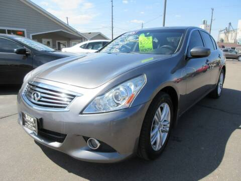 2013 Infiniti G37 Sedan for sale at Dam Auto Sales in Sioux City IA