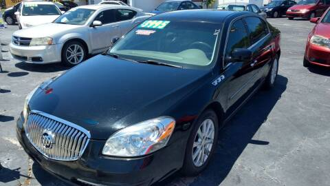 2011 Buick Lucerne for sale at AFFORDABLE AUTO SALES in We Finance Everyone! FL