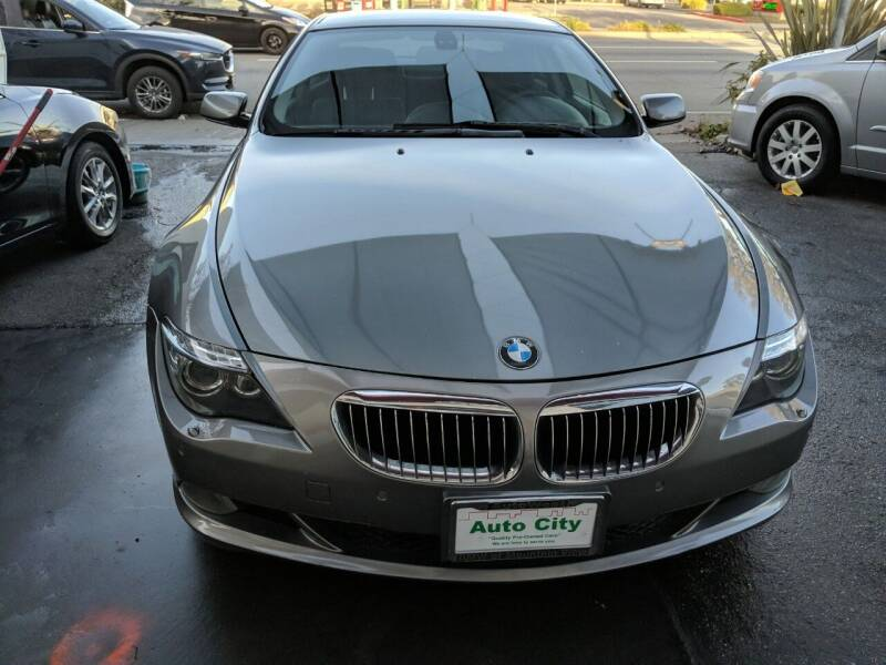 2008 BMW 6 Series for sale at Auto City in Redwood City CA