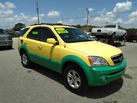 2005 Kia Sorento for sale at Kelly & Kelly Supermarket of Cars in Fayetteville NC