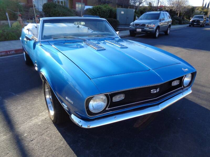 1968 Chevrolet Camaro for sale at NorCal Auto Mart in Vacaville CA
