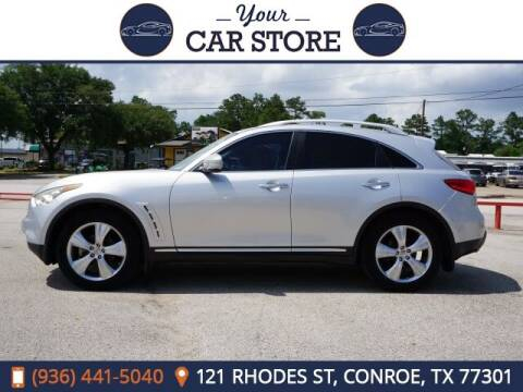 2009 Infiniti FX35 for sale at Your Car Store in Conroe TX