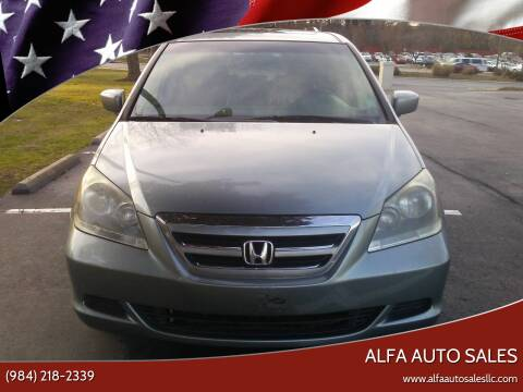 2007 Honda Odyssey for sale at Alfa Auto Sales in Raleigh NC