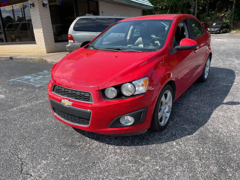 2013 Chevrolet Sonic for sale in Dalton, GA