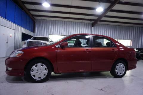 2004 Toyota Corolla for sale at SOUTHWEST AUTO CENTER INC in Houston TX