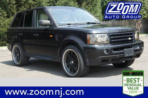 2006 Land Rover Range Rover Sport for sale at Zoom Auto Group in Parsippany NJ
