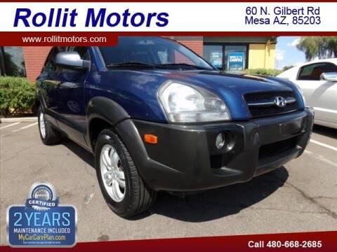 2007 Hyundai Tucson for sale at Rollit Motors in Mesa AZ