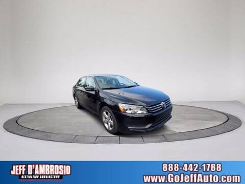 2012 Volkswagen Passat for sale at Jeff D'Ambrosio Auto Group in Downingtown PA