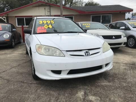 2004 Honda Civic for sale at Port City Auto Sales in Baton Rouge LA