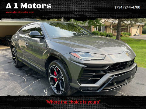 2021 Lamborghini Urus for sale at A 1 Motors in Monroe MI